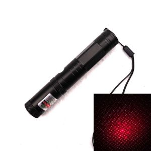 Oran 50mW 650nm Red Laser Pointer with Removable Starry Pattern Lens