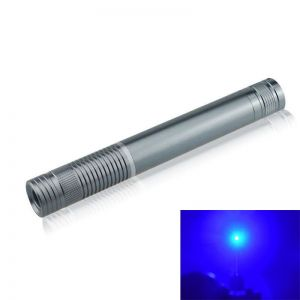 Zain 1500mW 450nm Blue High Power Burning Laser Pointer Silver