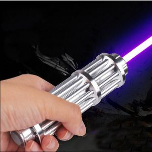 Kardel Gatling 500mW/1000mW/3000mW Blue/Green/Red/Purple Burning Laser Pointer