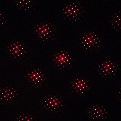 5mW 650nm Red Laser Pointer Starry-Light-Lens Pen-Shape Black